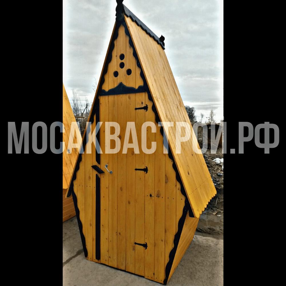 Купить деревянный туалет в Московской области, Компания
